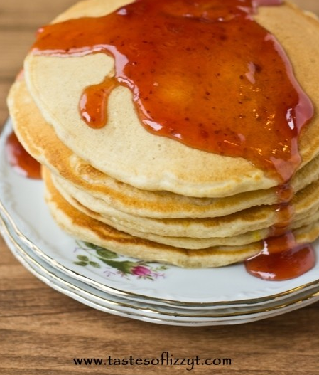 Peanut Butter & Jelly Pancakes