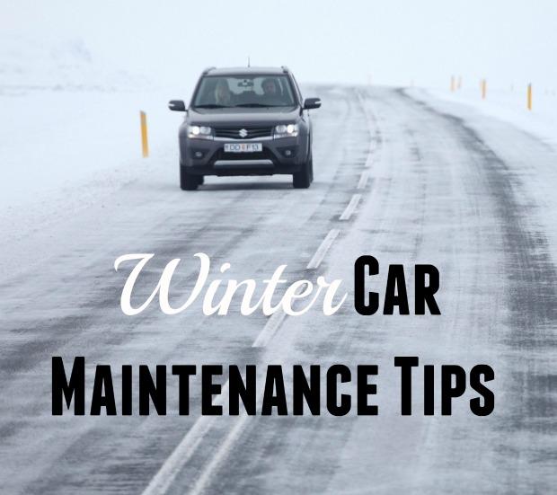 Five Winter Car Maintenance Tips