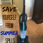 Save Yourself from Summer Spills #BISSELLclean