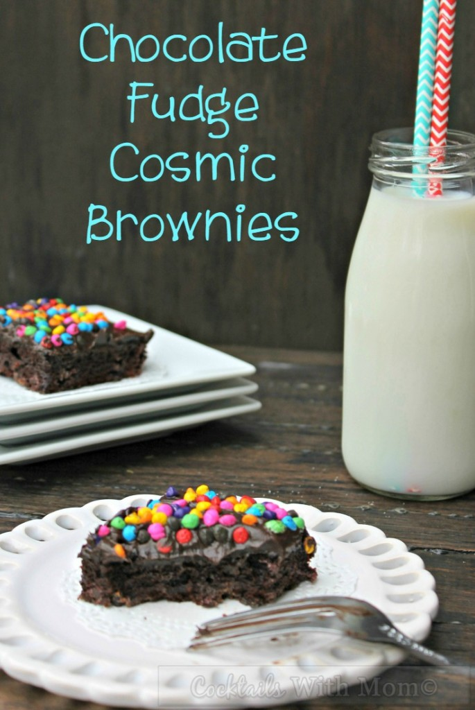 chocolate-fudge-cosmic brownies