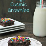 Chocolate Fudge Cosmic Brownies