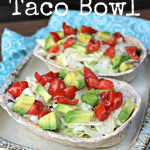 Spicy BBQ Taco Bowl (Texas Style!)