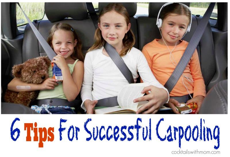 6 carpooling tips