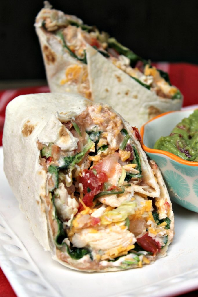Mexican Grilled Chicken Wrap Sandwich 11