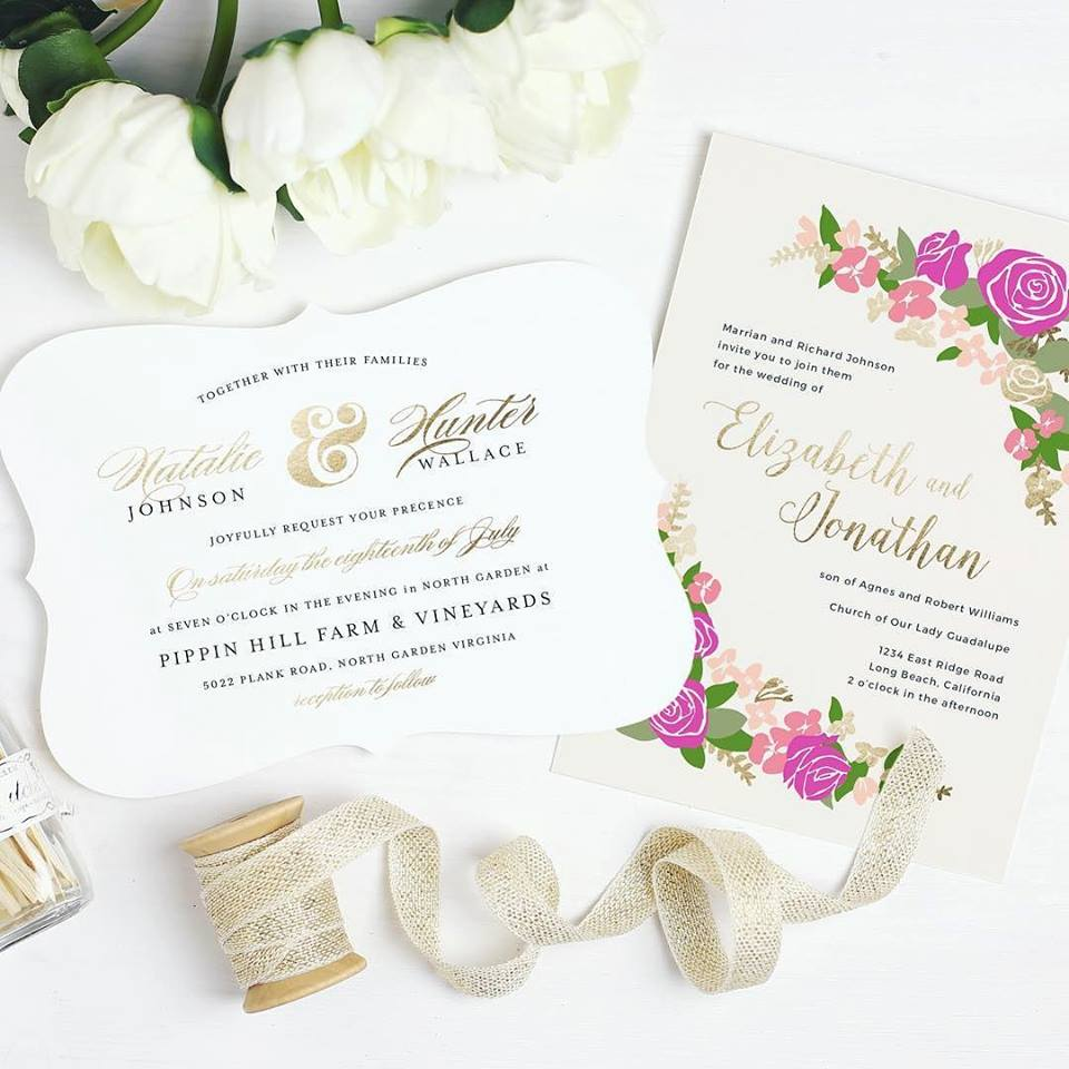 Sending Out Custom Stationery with Basic Invite