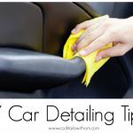 Simple DIY Car Detailing Tips To keep your car looking GOOD!
