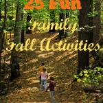 25 Fun Family Fall Activities
