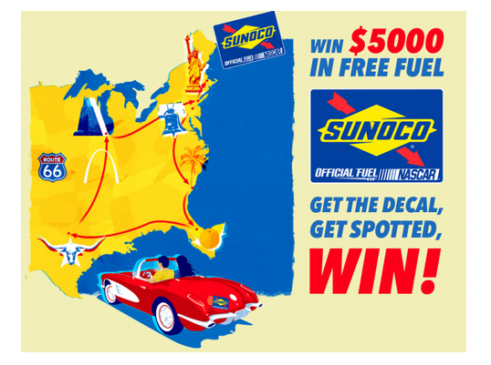 SUNOCO's Free Fuel 5000 Sweepstakes + $25 Sunoco Gift Card!