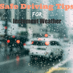 Safe Driving Tips For Inclement Weather