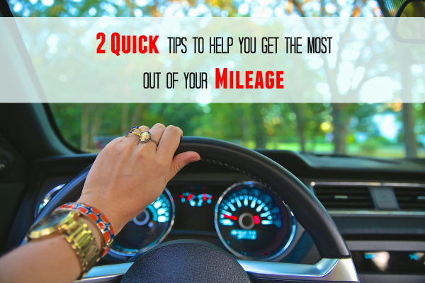 save on mileage tips