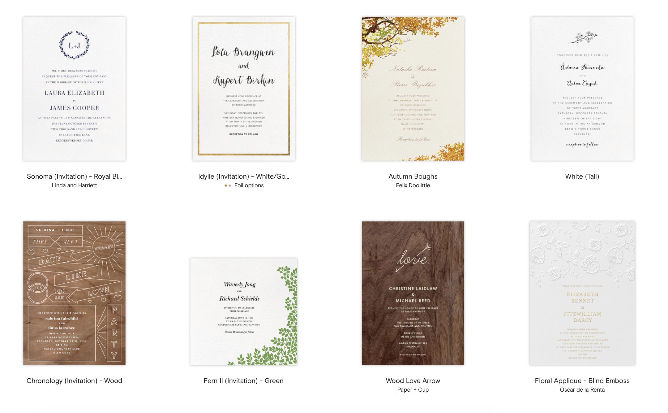 Paperless Post Helps Make Wedding Planning Easy