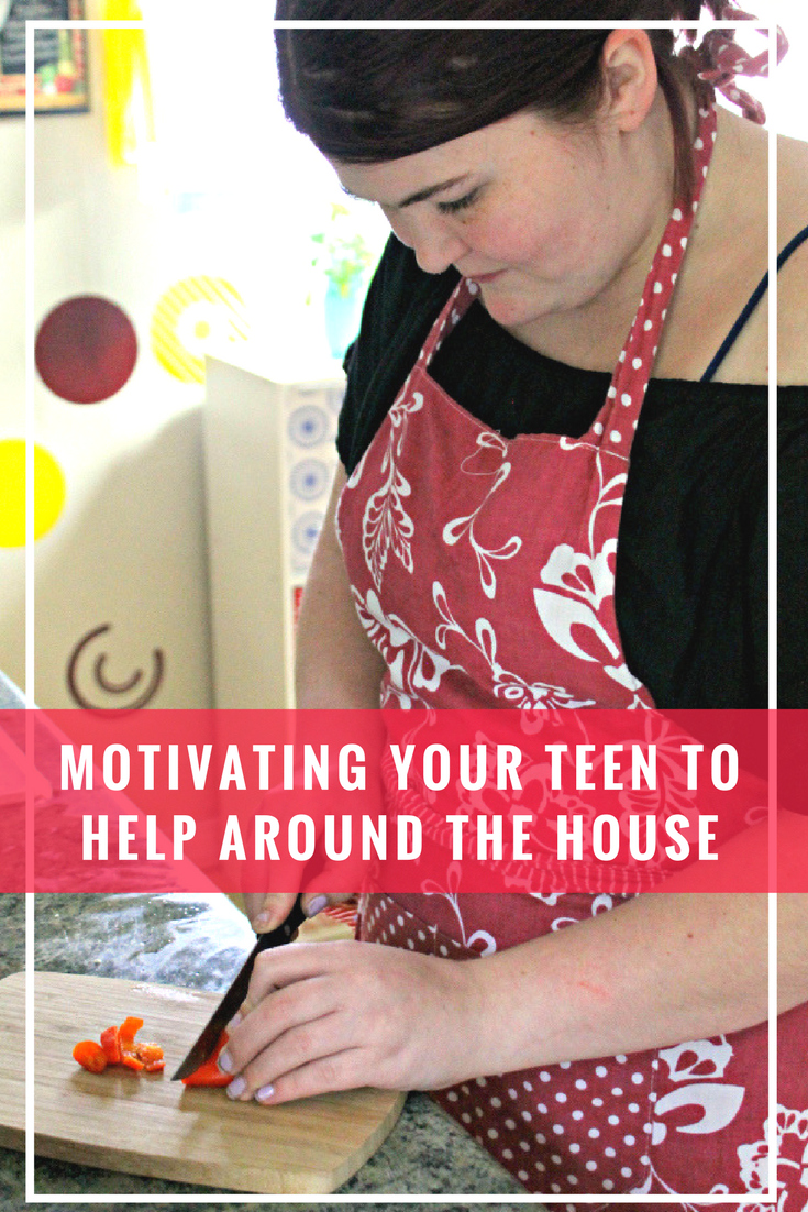 How To Motivate Your Teen To Help Around The House
