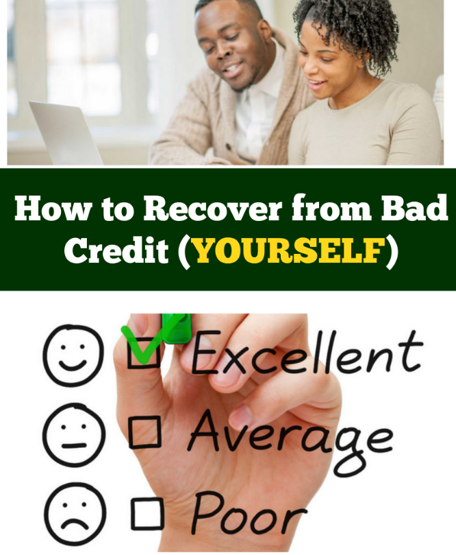 how to recover from bad credit