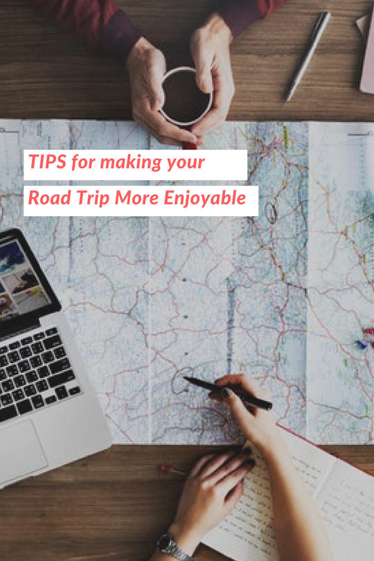Tips and Tricks for Making a Road Trip More Enjoyable