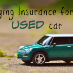 Buying Insurance for an Used car