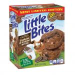 Entenmann's Limited Edition Little Bites Cookies & Crème Muffins