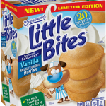 NEW Limited Edition Entenmann's® Little Bites® Vanilla Muffins + the Love Little Bites Father's Day Sweepstakes