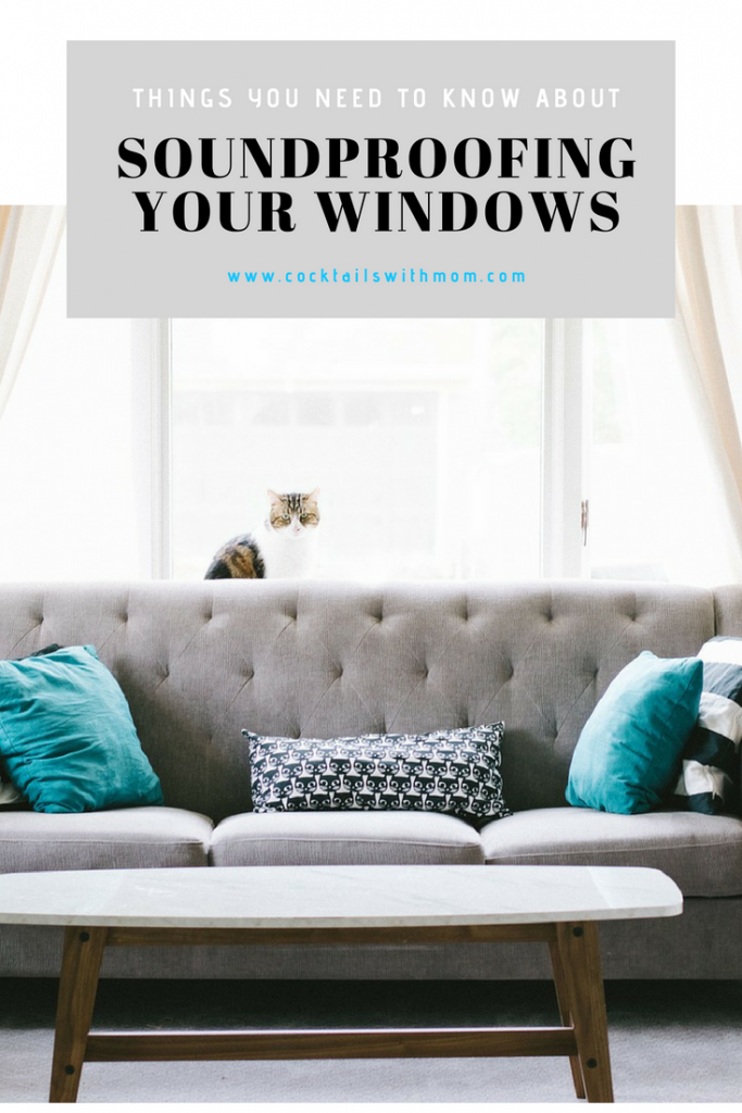 soundproofing your windows