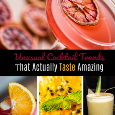 4 Unusual Cocktail Trends That Actually Taste Amazing