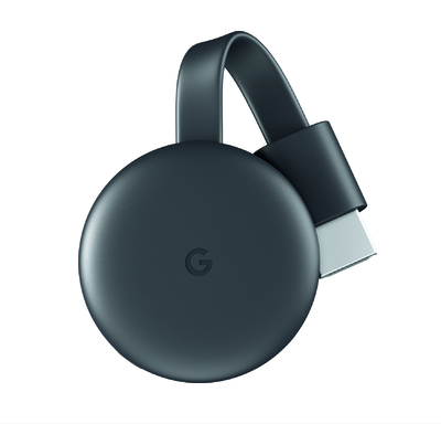 Google Chromecast Streaming Media Player: See it. Stream it.