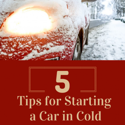 5 Tips for Starting Car in Cold Weather
