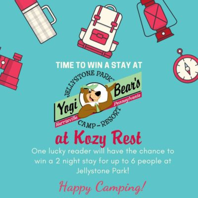 Win 2 Night Stay At Yogi Bear's Jellystone Park at Kozy Rest!
