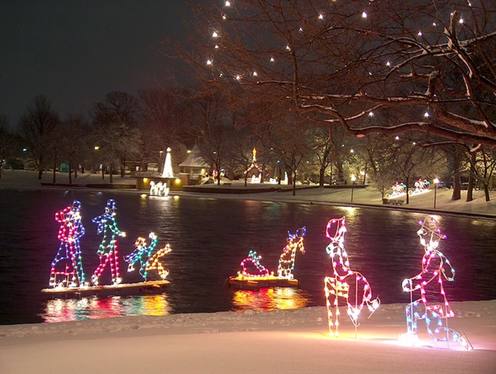 Must See Holiday Lights in Ohio